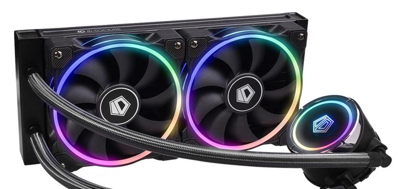 ID-Cooling anuncia la refrigeración líquida ZoomFlow 240