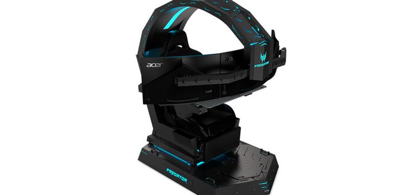 Acer tiene una silla para jugar con soporte para tres monitores y sistema de reclinación
