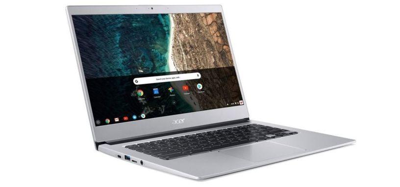 Acer presenta su nuevo portátil con carcasa de aluminio, el Chromebook 514