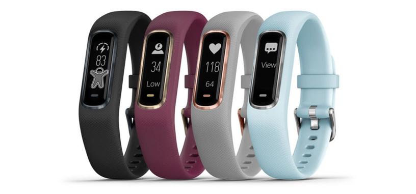 La pulsera de actividad Vívosmart 4 de Garmin aporta una semana de autonomía y pulsioxímetro