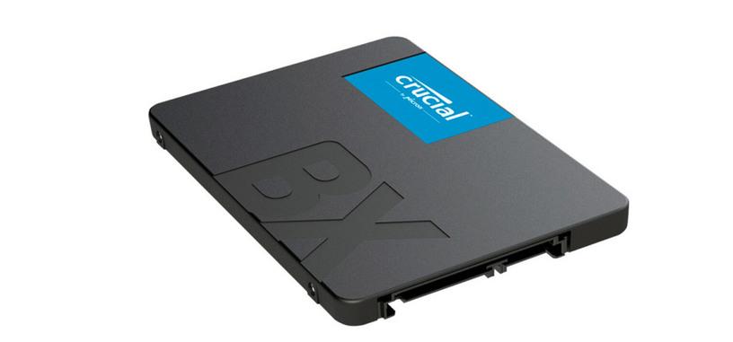 Crucial añade modelos de 1 TB y 2 TB a la serie BX500