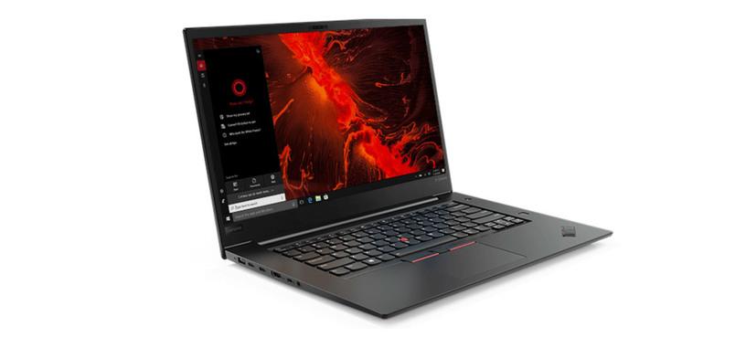 Lenovo renueva el ThinkPad X1 Extreme con nuevo Core i9 y una GTX 1650 Ti