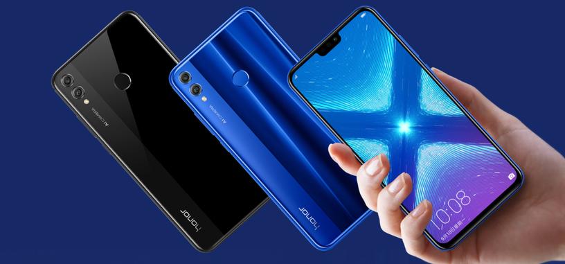 Honor presenta los 8X y 8X Max, con pantalla de hasta 7.1'' y 5000 mAh de batería