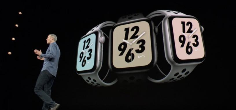 Apple anuncia el Watch serie 4, con ECG, más pantalla y mejores sensores
