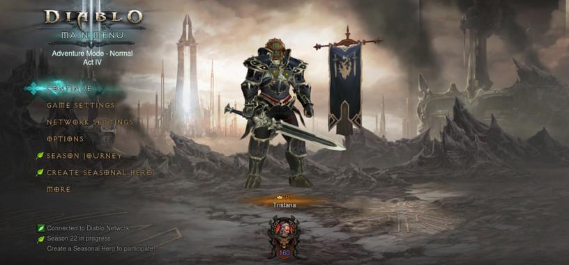 'Diablo III: Eternal Collection' llega a la Switch el 2 de noviembre