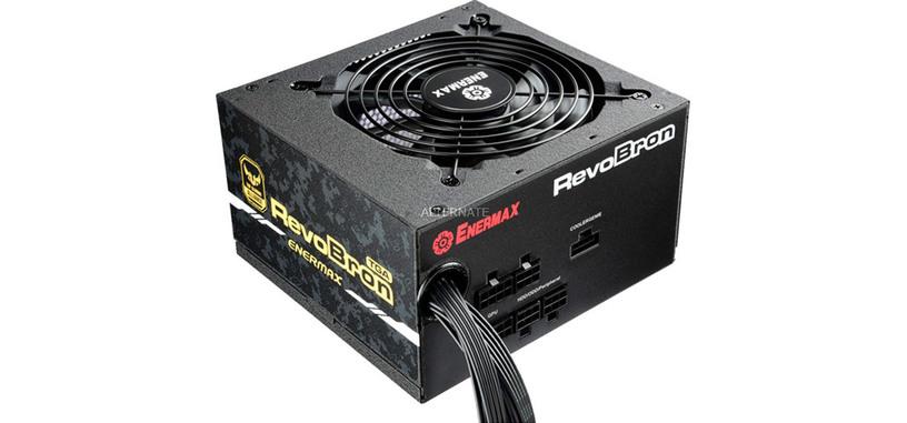 Enermax pone a la venta la serie RevoBron TGA de fuentes de alimentación