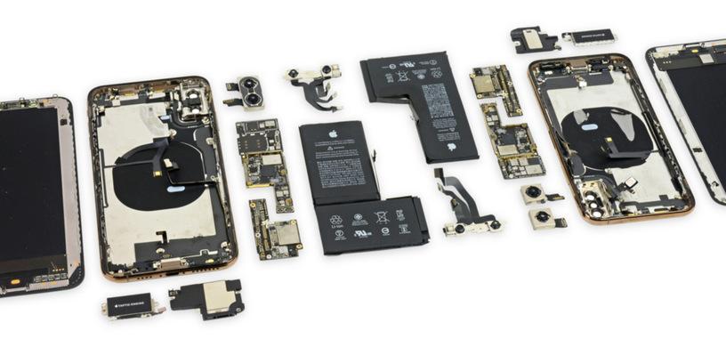 iFixit desmonta los iPhone XS y XS Max, descubriendo su interior