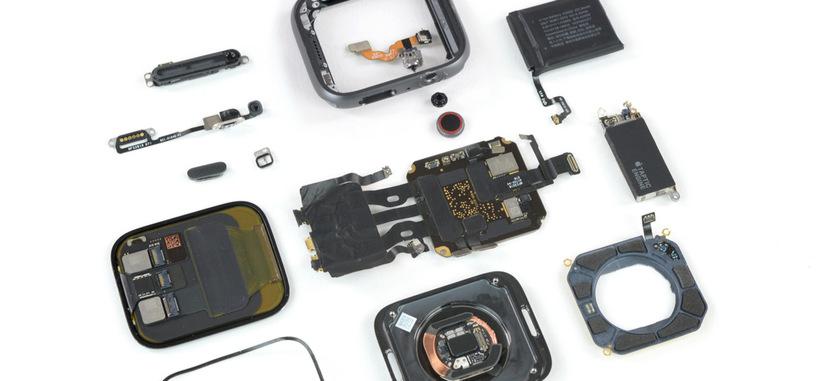 iFixit desmonta el Apple Watch 4, mostrando un diseño interior más meditado