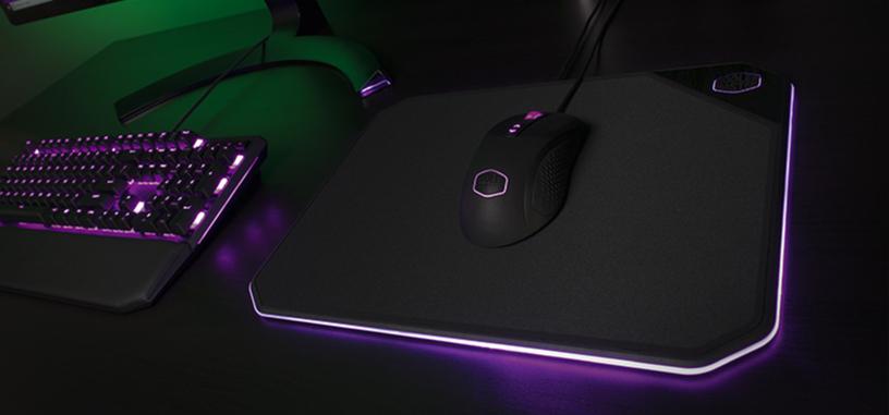Cooler Master anuncia la alfombrilla MP860 con iluminación RGB