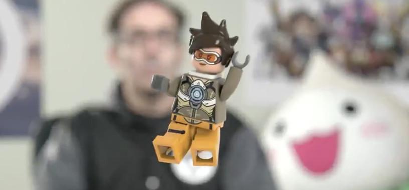 LEGO y Blizzard muestran el primer integrante de la línea basada en 'Overwatch'