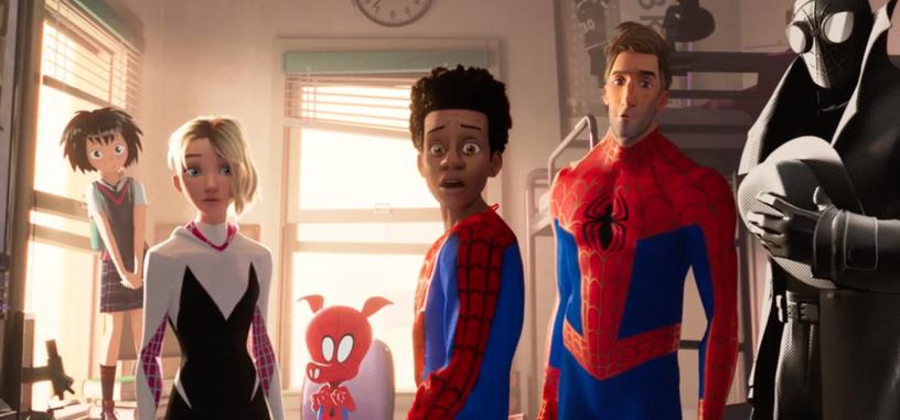 No cabe un solo Spiderman más en el nuevo tráiler de 'Spiderman: Un nuevo universo'