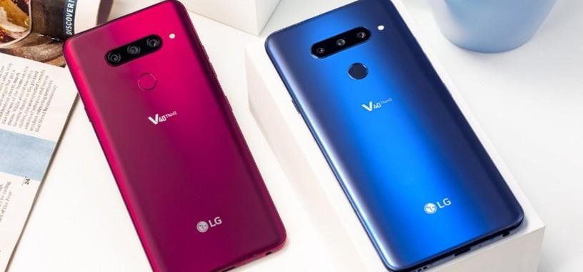 LG pone a la venta en España el V40 ThinQ por 899 euros