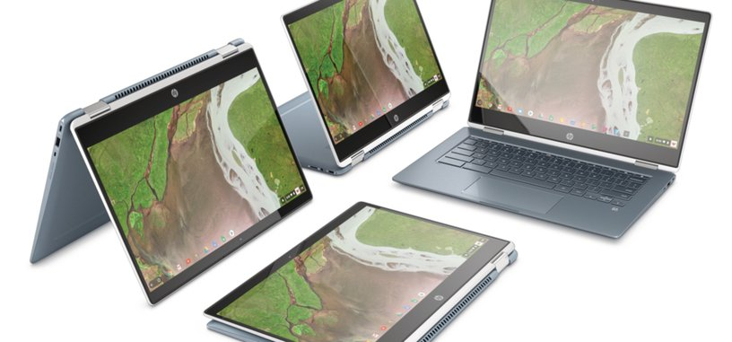 HP presenta el Chromebook x360 14, convertible con procesador Intel y Chrome OS