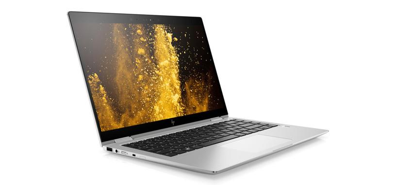 HP presenta el convertible EliteBook x360 1040 G5, pantalla 14'' de 700 nits, TB3 y LTE