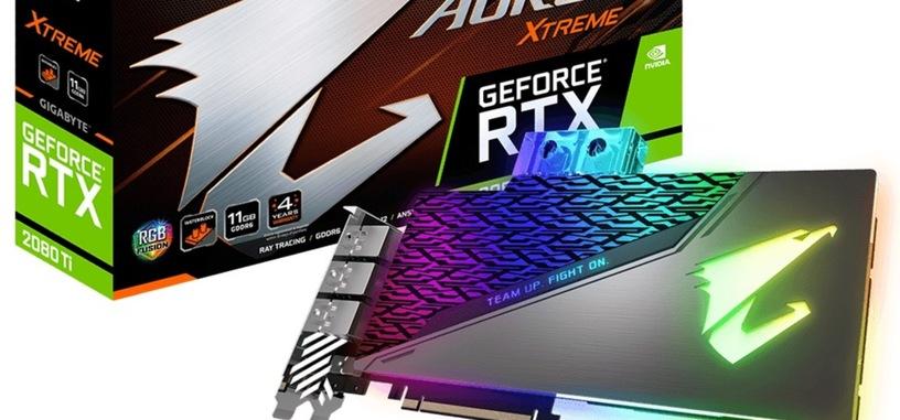 Gigabyte presenta la serie Waterforce de las RTX 2080 y 2080 Ti