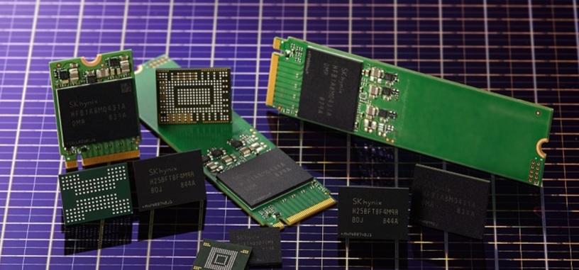 SK Hynix introduce sus chips NAND 3D de tipo TLC con 96 capas y 512 Gb