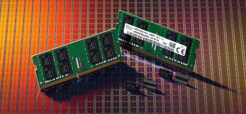 SK Hynix desarrolla chips DRAM de 8 Gb con un proceso de 1Y nm
