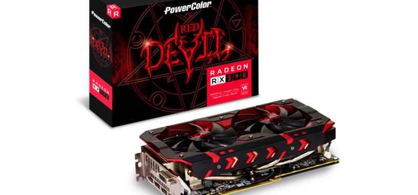 PowerColor presenta la Radeon RX 590 Red Devil