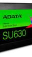 ADATA presenta la serie SU630 de SSD con memoria NAND 3D de tipo QLC