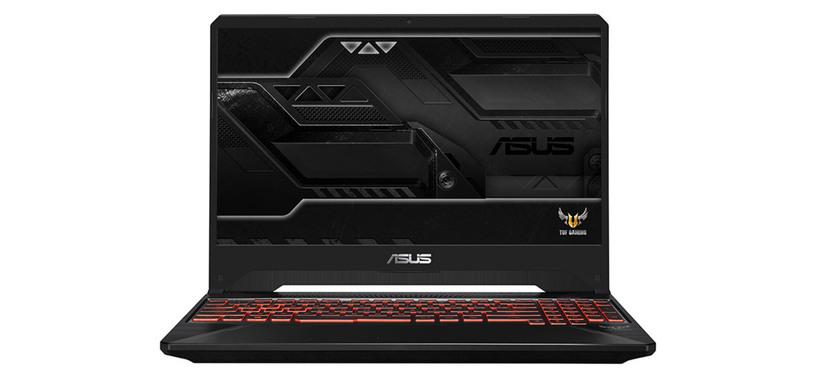 ASUS pone a la venta en España los TUF Gaming FX505 y FX705