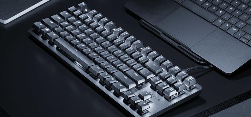 Razer presenta el BlackWidow Lite, teclado mecánico compacto pensado para escribir