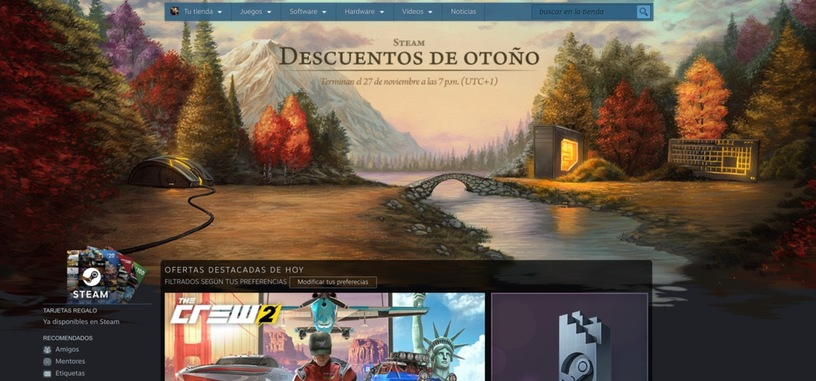 Valve inicia las rebajas 'Descuentos de otoño' de Steam