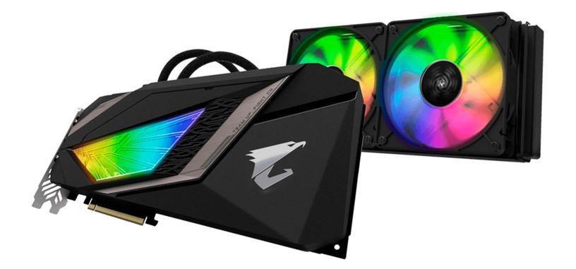 Gigabyte pasa por agua la GeForce RTX 2080 Ti Aorus Waterforce Xtreme