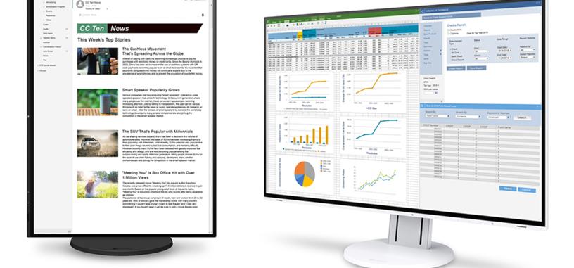 EIZO presenta el monitor FlexScan EV2457 para entornos profesionales