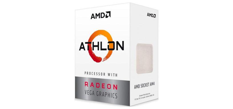 AMD anuncia el Athlon 3000G de doble núcleo y Radeon Vega 3 de 50 dólares