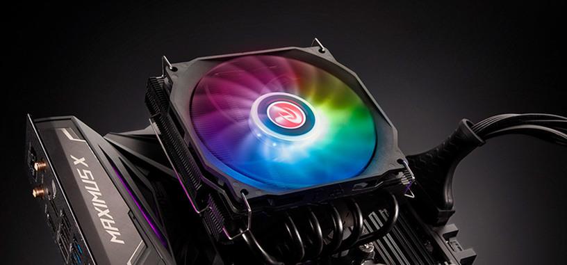 Raijintek presenta la refrigeración Pallas 120 RGB de perfil bajo
