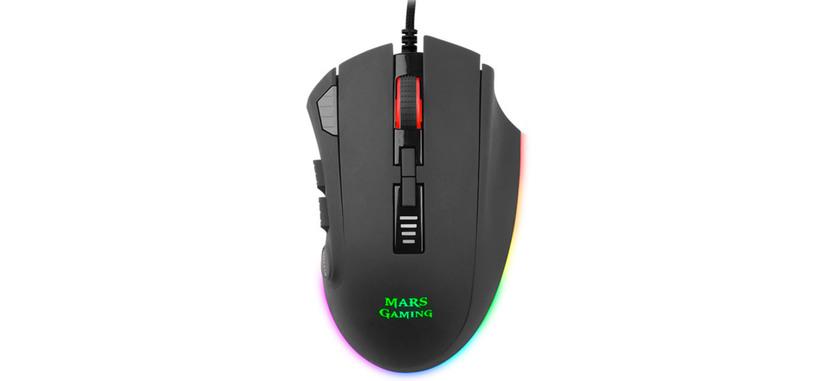 Mars Gaming presenta el ratón MM418