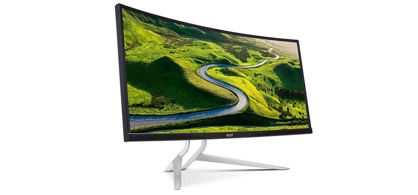 Acer presenta el XR342CKP, panel panorámico IPS de 100 Hz con FreeSync