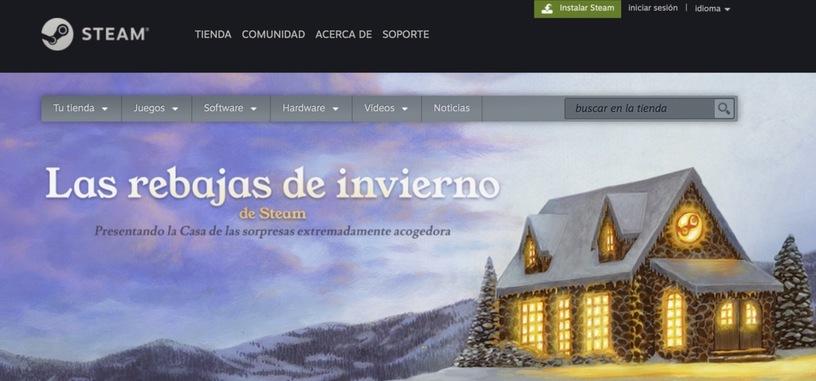 Valve da comienzo a las rebajas de invierno de Steam