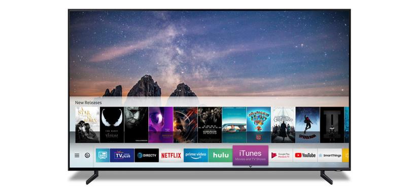 Los televisores inteligentes de Samsung de 2019 contarán con iTunes y AirPlay 2