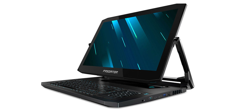 Acer presenta el convertible Predator Triton 900, con Core i7, RTX 2080 y pantalla de 17'' 4K