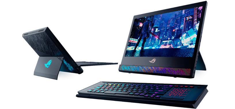 ASUS presenta Mothership, un ¿portátil? de 17.3'' con Core i9, RTX 2080 y teclado separable