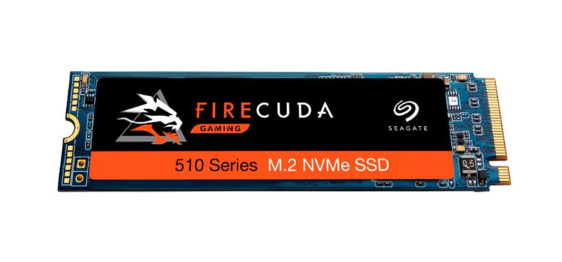 Seagate presenta las series BarraCuda 510 y FireCuda 510 de SSD tipo PCIe