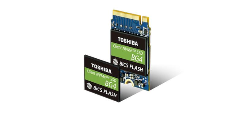 Toshiba anuncia el BG4, SSD en formato M.2230 con NAND 3D de 96 capas