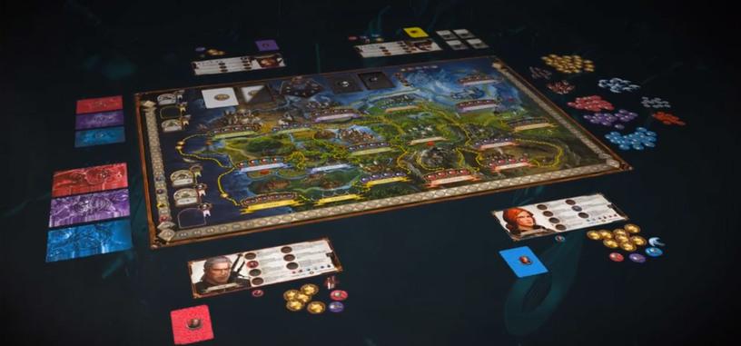 Fantasy Flight Games y CD Projekt Red están desarrollando The Witcher Adventure Game para tablero, iOS y Android