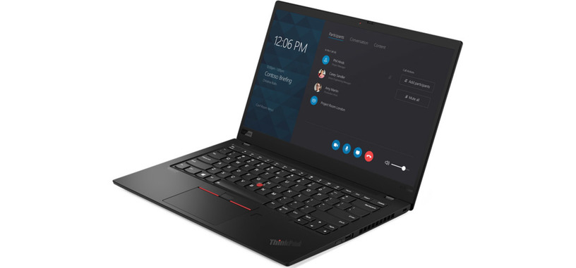 Lenovo renueva el ThinkPad X1 Carbon haciéndolo a su vez más fino