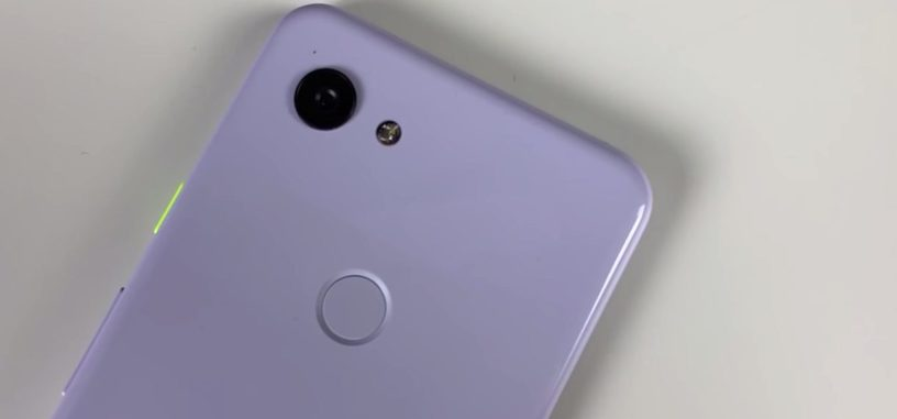 Muestran en vídeo el supuesto Pixel 3 Lite que Google estaría preparando