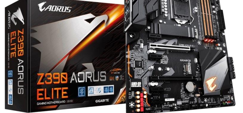 Gigabyte actualiza las placas base Z390 para usar los módulos de DDR4 de 32 GB
