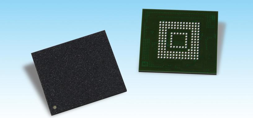 Toshiba desarrolla la primera memoria UFS 3.0 para móviles, con hasta 2.9 GB/s
