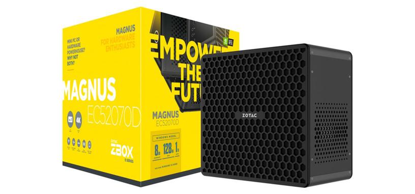 Zotac presenta el Magnus EC52070D, mini-PC con un Core i5 y una RTX 2070