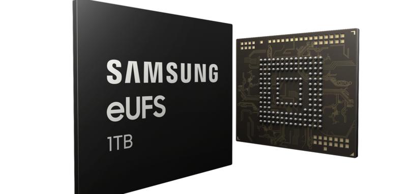 Samsung tiene un chip de 1 TB de almacenamiento UFS para los próximos móviles
