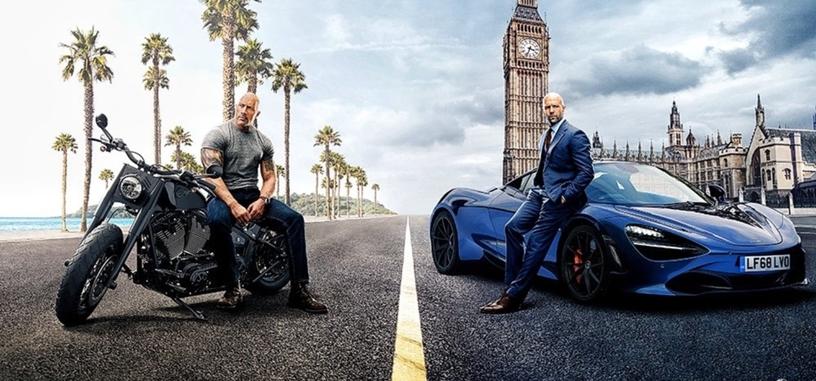 Llega el primer tráiler de 'Fast & Furious: Hobbs & Shaw', con Dwayne Johnson y Jason Statham