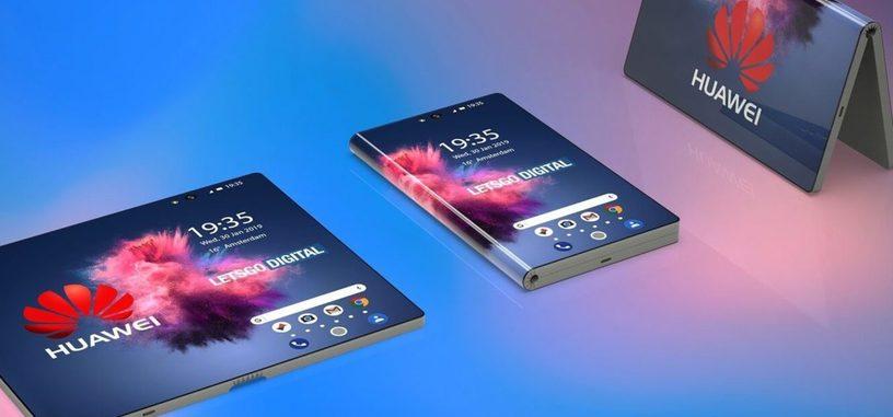 Huawei presentará su teléfono de pantalla plegable en el MWC, y podría tener este aspecto