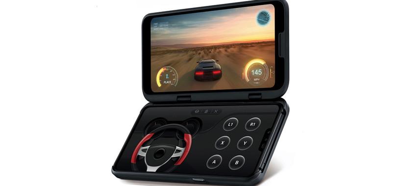 LG presenta el V50 ThinQ 5G, con una funda que aporta una segunda pantalla