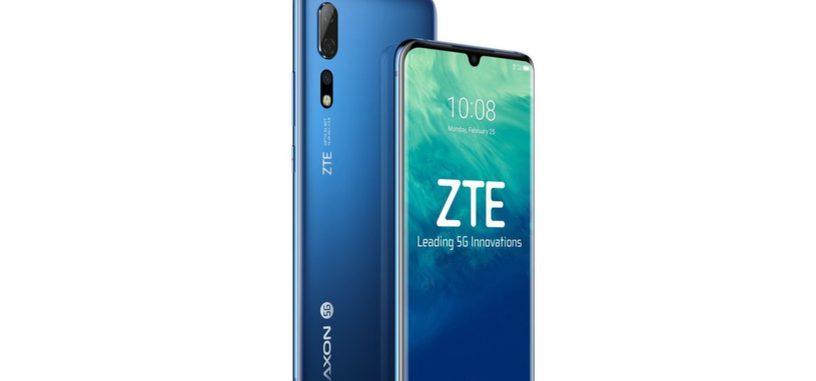 ZTE presenta el Axon 10 Pro 5G, con Snapdragon 855 y cámara de 48 Mpx