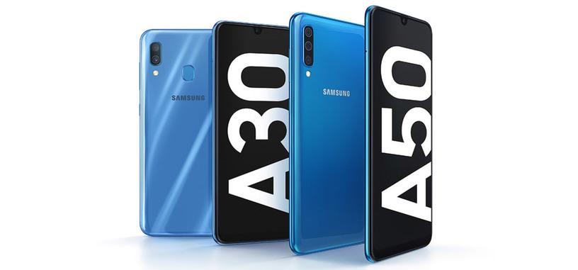 Samsung presenta los Galaxy A30 y A50